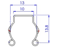 "Grounding Kits 7⁄8"", 1⁄2 "" RFS Design"