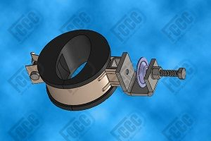 6 GHz Waveguide Clamp