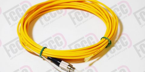 Simplex Fiber Optic Pigtail, Multi-mode, 3mm
