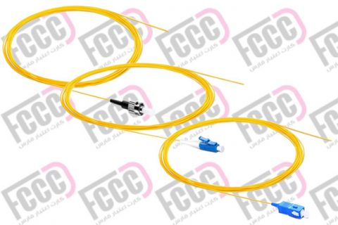 Simplex Fiber Optic Pigtail, Single mode, 2mm