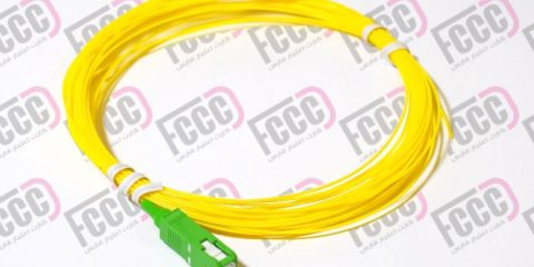 Simplex Fiber Optic Pigtail, Single-mode, 0.9mm