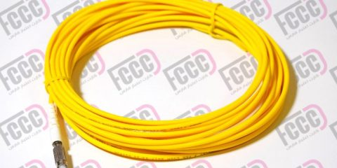 Simplex Fiber Optic Pigtail, Single-mode, 3mm