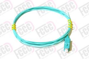Simplex-Fiber-Optic-Pigtail,-Multi-mode,-0.9mm