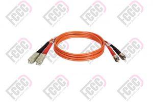 MultiMode, Duplex, Indoor Fiber Optic Patch Cord