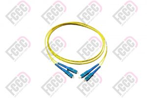 Single Mode, Duplex, Indoor Fiber Optic Patch Cord