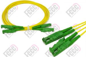 e2000-e2000 duplex fiber optic patch-cord cable