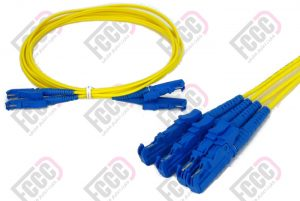 e2000 duplex fiber optic patch -cord