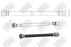 جامپر لحیمی با کانکتورهای نری 4.3/10 و N-Type